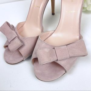kate spade Shoes - Kate Spade Ismay Bow Heels in Sweet Pink size 9